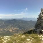 Il cairn sulla Montagne de Lure