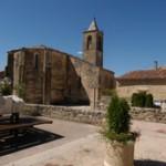 La chiesa San Martino nel villaggio di Cruis