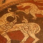 Mosaiche nel priorato di Ganagobie