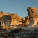Sito geologico Les Mourres a Forcalquier