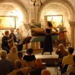 Un concerto delle Riches Heures Musicales de la Rotonde a Simiane-la-Rotonde